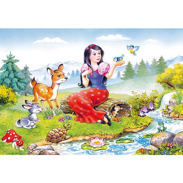 Пазлы Белоснежка, 60 деталей, CastorlandПазлы для малышей<br>Пазлы Белоснежка, 60 деталей  - яркий красивый и качественный пазл, созданный по мотивам любимой сказки.<br><br>Дополнительная информация:<br><br>- Кол-во деталей: 60 шт.<br>- Материал: картон.<br>- Размер собранной картинки: 32 х 23 см.<br>- Размеры: 130x180x35 мм<br><br>Ширина мм: 180<br>Глубина мм: 40<br>Высота мм: 130<br>Вес г: 150<br>Возраст от месяцев: 36<br>Возраст до месяцев: 84<br>Пол: Женский<br>Возраст: Детский<br>Количество деталей: 60<br>SKU: 2562343