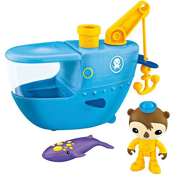 Подводный транспорт, Октонавты, Fisher PriceКорабли и лодки<br>Подводный транспорт, Октонавты, Fisher Price (Фишер Прайс)<br><br>Характеристики:<br>- Состав: пластик<br>- Размер: 23 * 12 * 23 см. <br>- В комплект входит: Подводная лодка, спасательный крюк, фигурка Шеллингтона, кит<br>- Вес: 400 гр.<br>Подводный транспорт, Октонавты, Fisher Price (Фишер Прайс) станет одной из любимых игрушек ребенка. Игрушку можно использовать в ванной, а фигурка кита меняет цвет в теплой воде. Подводная лодка Шеллингтона оснащена спасательным крюком и специальной исследовательской подзорной трубой, с помощью которой можно исследовать дно. У фигурки обезьянки Шеллингтона двигается голова, крутятся лапки. Посади Шеллингтона за штурвал подводной лодки, найди кита, попавшего в беду и вытащи его с помощью спасательного крюка! <br>Подводный транспорт, Октонавты, Fisher Price (Фишер Прайс) можно купить в нашем интернет-магазине.<br>Подробнее:<br>• Для детей в возрасте: от 3 до 6 лет <br>• Номер товара: 2564571<br>Страна производитель: Китай<br><br>Ширина мм: 231<br>Глубина мм: 128<br>Высота мм: 227<br>Вес г: 380<br>Возраст от месяцев: 36<br>Возраст до месяцев: 84<br>Пол: Унисекс<br>Возраст: Детский<br>SKU: 2564571