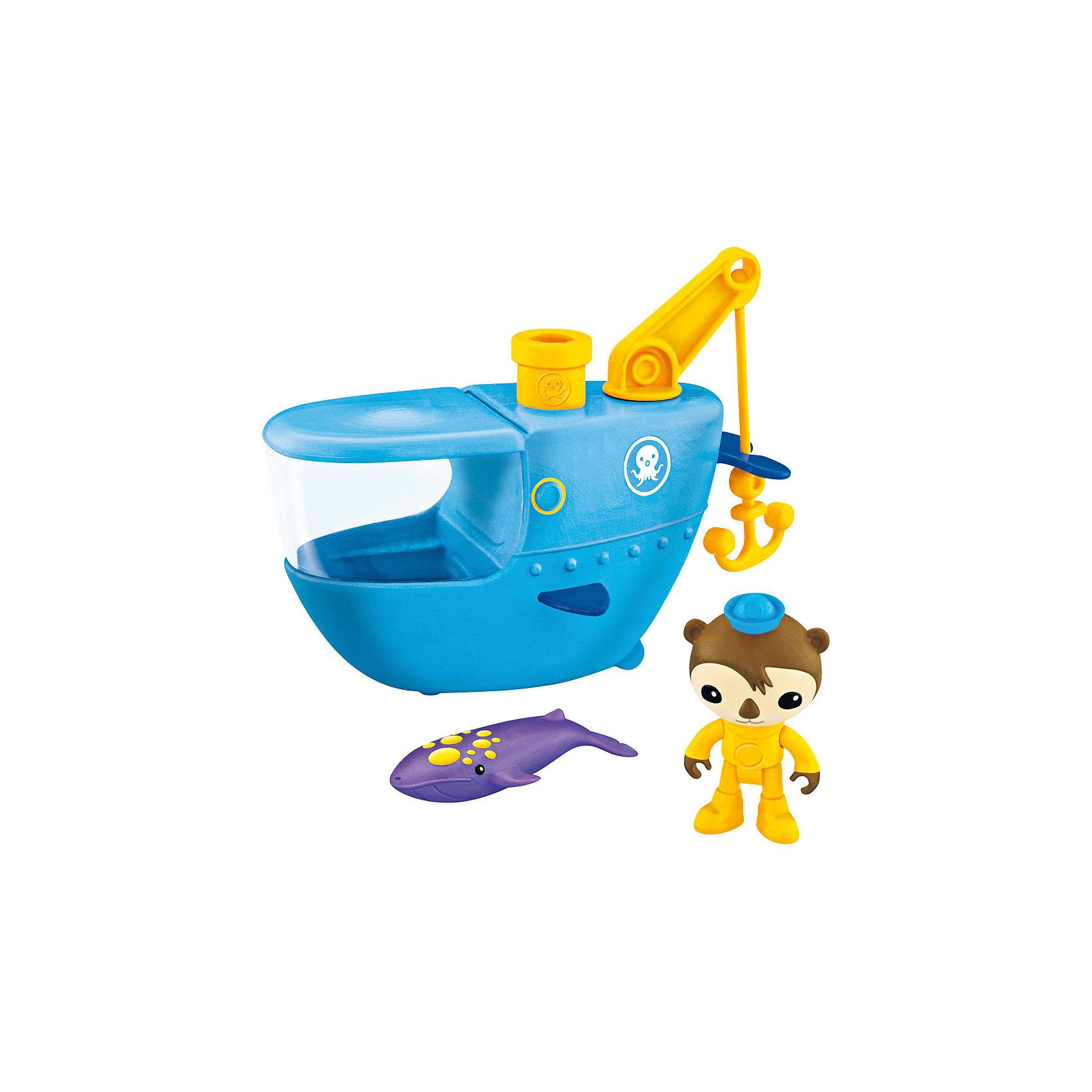 Mattel Подводный транспорт, Октонавты, Fisher Price mattel базовая фигурка октонавты fisher price