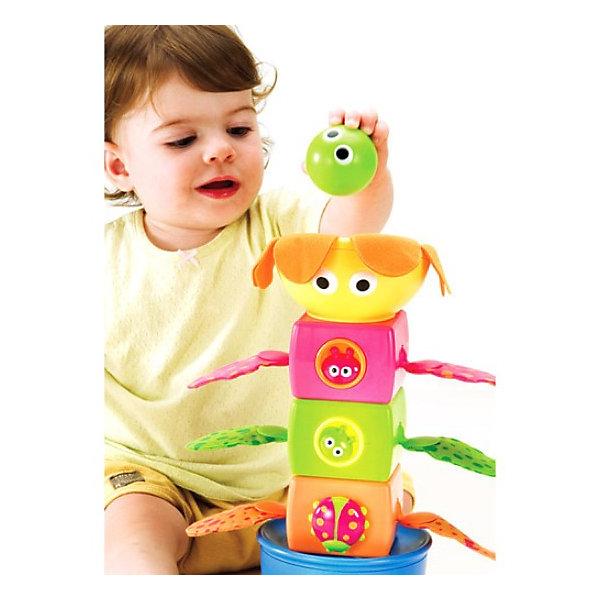 Yookidoo Музыкальная пирамидкаИнтерактивные игрушки для малышей<br>Yookidoo Музыкальная пирамидка - яркая и красивая развивающая музыкальная игрушка для малышей, представляющая собой сборно-разборную пирамидку в форме цветочка, сидящего в горшке.<br><br>Пирамидка состит из 5 частей и представляет собой своеобразный музыкальный туннель.<br>Части пирамидки отличаются друг от друга по форме и цвету и оформлены в цветочно-летней тематике. В комплекте также идут разноцветные шарики, каждый из которых при опускании в туннель воспроизводит свое уникальное звуковое сопровождение!<br>Игрушка стимулирует малыша к активным действиям, способствует развитию моторики рук и координации движений  ребенка!<br><br>Дополнительная информация:<br><br>- Материал: пластик <br>- Размер (Д х Ш х В): 25х12,5х36 см<br>Ширина мм: 250; Глубина мм: 360; Высота мм: 125; Вес г: 1125; Возраст от месяцев: 9; Возраст до месяцев: 36; Пол: Унисекс; Возраст: Детский; SKU: 2565141;