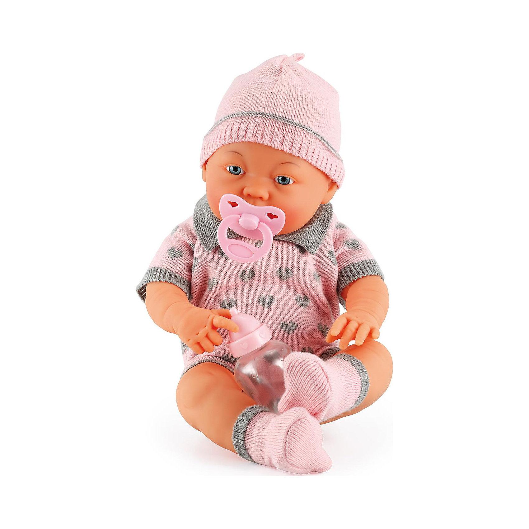 BAYER Малышка Бамбина 42см куклы и одежда для кукол bayer малышка первый поцелуй 42 см