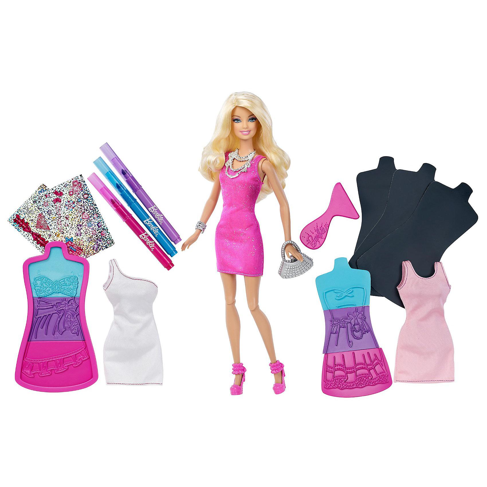 Набор Модная дизайн-студия: Создай свое платье, Barbie