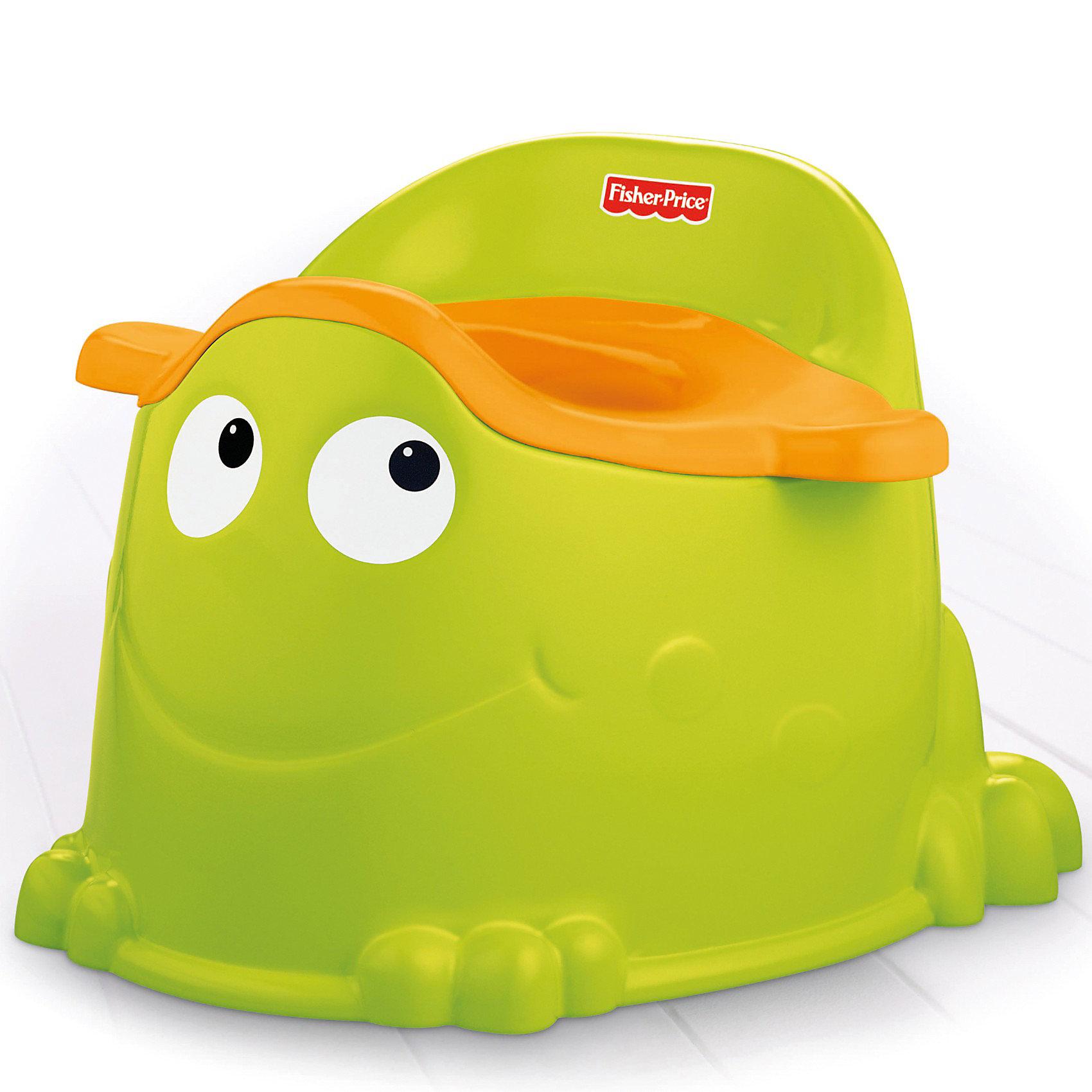 Mattel Горшок Зеленый лягушонок, Fisher-price купить горшок для пальмы большой