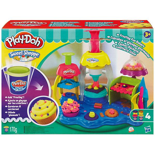 Купить Игровой набор Фабрика пирожных , Play-Doh Plus, Hasbro, Китай, Унисекс