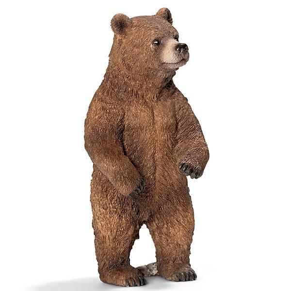 Schleich Медведь Гризли, самка. Серия Дикие животныеМир животных<br>Schleich (Шляйх) Медведь Гризли, самка. Серия Дикие животные - это крупнейший медведь Северной Америки. Медведь гризли весит около 450 кг, у него сильные задние лапы. Медведь-гризли обожает ловить лосося, также он любит кушать растения и крупных млекопитающих, таких как лоси, олени. Также медведь может питаться медом.<br><br>Дополнительная информация:<br><br>-размеры (ДхШхВ): 4,5х10х5 см<br>-изготовлено из безопасного пластика и раскрашено вручную <br><br>В настоящее время медведя можно встретить только в заповеднике, а познакомить ребенка с ним - купив эту фигурку Гризли от компании Schleich (Шляйх).<br><br>Игрушку Schleich (Шляйх) Медведь Гризли, самка. Серия Дикие животные  можно купить  в нашем магазине<br><br>Ширина мм: 122<br>Глубина мм: 63<br>Высота мм: 40<br>Вес г: 78<br>Возраст от месяцев: 36<br>Возраст до месяцев: 96<br>Пол: Унисекс<br>Возраст: Детский<br>SKU: 2609262
