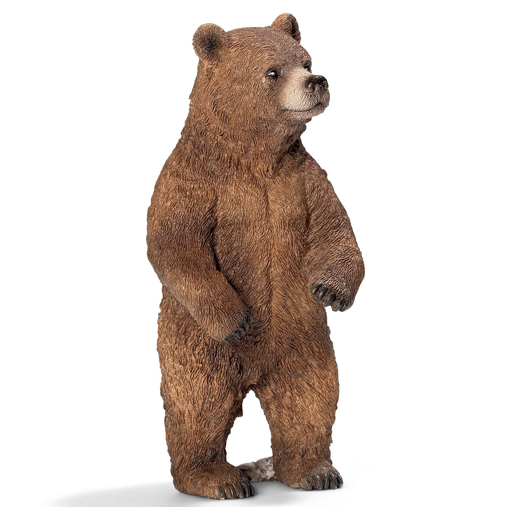 Schleich Schleich Медведь Гризли, самка. Серия Дикие животные животные серия антистресс альбом