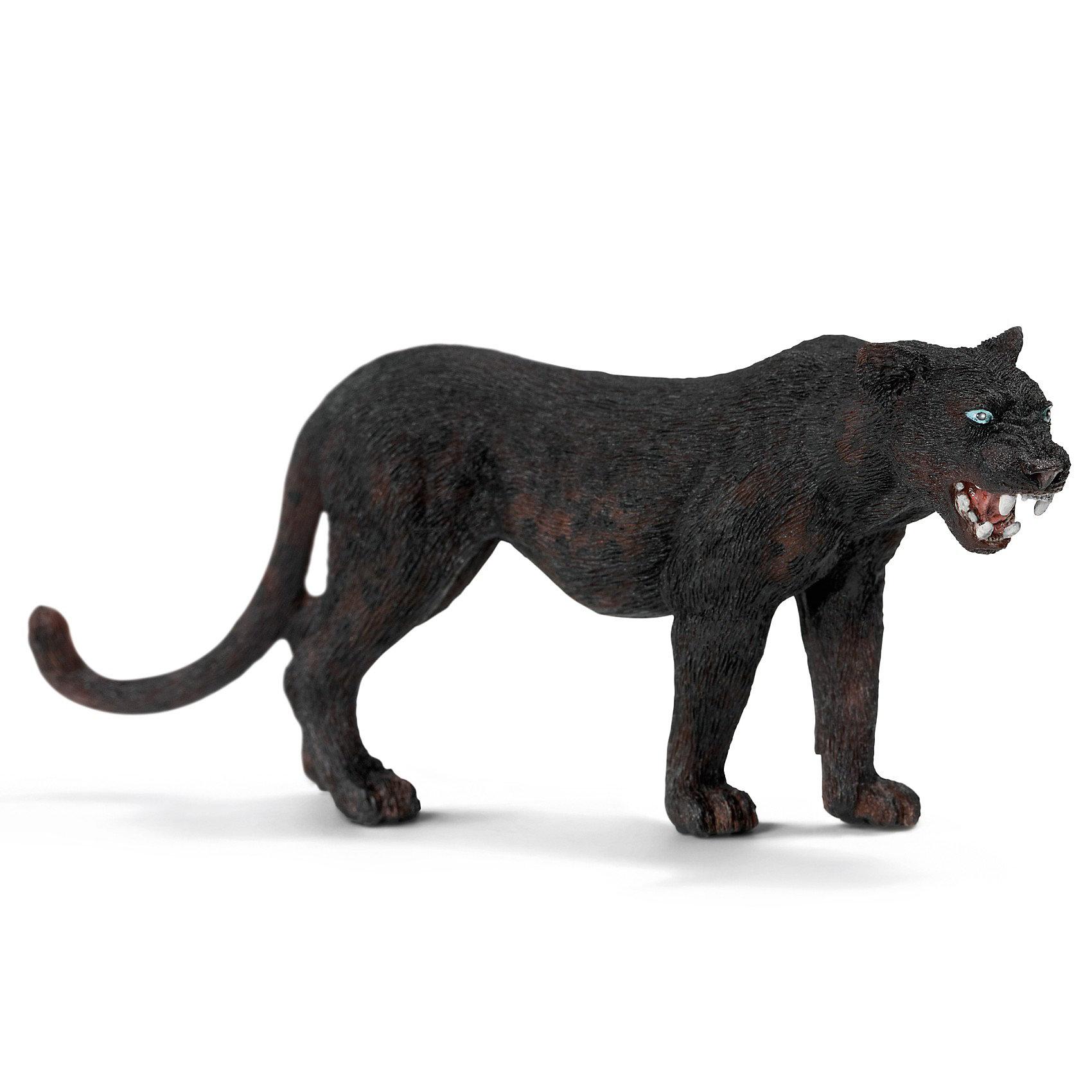 Schleich Schleich Черная пантера. Серия Дикие животные schleich schleich кенгуру серия дикие животные