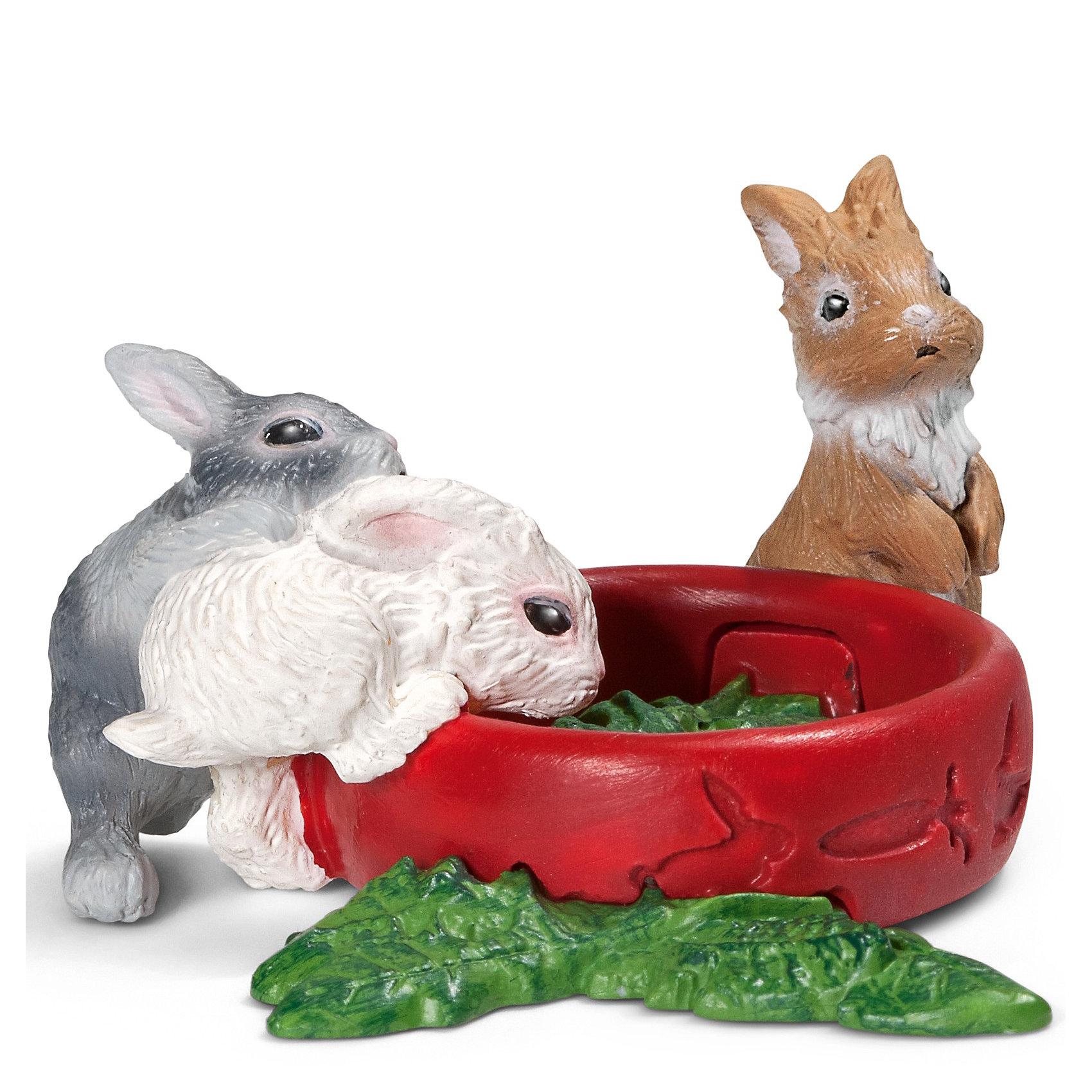 Schleich Schleich Зайчата. Серия Домашние животные schleich schleich кенгуру серия дикие животные