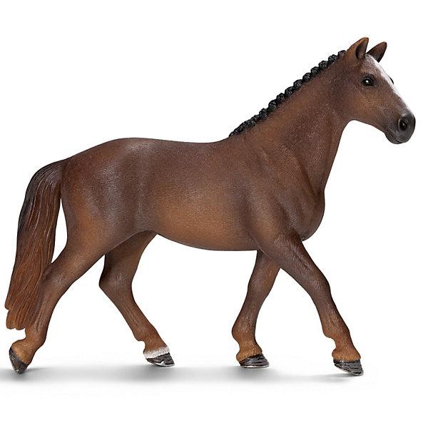 Гановерская кобыла, SchleichМир животных<br>Ганноверская кобыла, Schleich (Шляйх) – это высококачественная коллекционная и игровая фигурка.<br><br>Ганноверская кобыла из благородной спортивной породы лошадей разводится в Германии с 1735 года. Она превосходно подходит для выездки и конкура. Ганноверская лошадь считается самой способной в обучении, эти лошади самые понятливые, внимательные и уравновешенные. Прекрасно выполненные фигурки Schleich (Шляйх) являются максимально точной копией настоящих животных и отличаются высочайшим качеством игрушек ручной работы. Каждая фигурка разработана с учетом исследований в области педагогики.<br>Фигурка Ганноверской кобылы прекрасно разнообразит игру Вашего ребенка и станет отличным пополнением коллекции его фигурок животных.<br><br>Дополнительная информация:<br><br>- Размер фигурки:15х3,5х11 см.<br>- Материал: высококачественный каучуковый пластик.<br><br>Фигурку Ганноверская кобыла, Schleich (Шляйх) можно купить в нашем интернет-магазине.<br>Ширина мм: 151; Глубина мм: 129; Высота мм: 38; Вес г: 138; Возраст от месяцев: 36; Возраст до месяцев: 96; Пол: Женский; Возраст: Детский; SKU: 2609282;