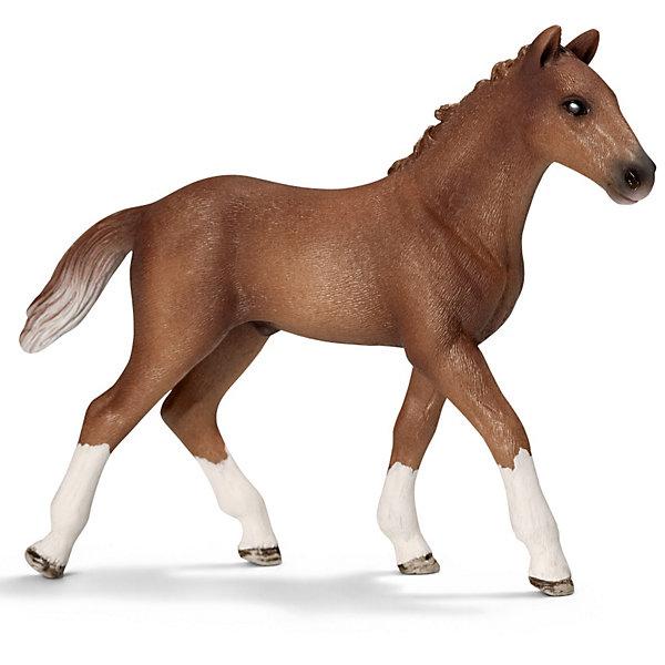 Гановерский жеребенок, SchleichМир животных<br>Ганноверский жеребенок, Schleich (Шляйх) – это высококачественная коллекционная и игровая фигурка.<br><br>Ганноверский жеребенок из благородной спортивной породы лошадей. Порода разводится в Германии с 1735 года. Она превосходно подходит для выездки и конкура. Ганноверская лошадь считается самой способной в обучении, эти лошади самые понятливые, внимательные и уравновешенные. Прекрасно выполненные фигурки Schleich (Шляйх) являются максимально точной копией настоящих животных и отличаются высочайшим качеством игрушек ручной работы. Каждая фигурка разработана с учетом исследований в области педагогики.<br>Фигурка Ганноверского жеребенка прекрасно разнообразит игру вашего ребенка и станет отличным пополнением коллекции его фигурок животных.<br><br>Дополнительная информация<br><br>- Размер фигурки: 10.5 ? 2.5 ? 8.5см.<br>- Материал: высококачественный каучуковый пластик<br><br>Фигурку Ганноверская кобыла, Schleich (Шляйх) можно купить в нашем интернет-магазине.<br><br>Ширина мм: 128<br>Глубина мм: 91<br>Высота мм: 30<br>Вес г: 45<br>Возраст от месяцев: 36<br>Возраст до месяцев: 96<br>Пол: Женский<br>Возраст: Детский<br>SKU: 2609283