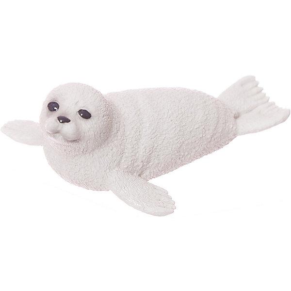 Schleich Тюлень, детеныш. Серия Дикие животныеМир животных<br>Тюлень – ластообразный обитатель северных морей. Тюлени могут достигать длины 170 см и весить до 100 кг. Тюлени питаются исключительно рыбой, которую сами ловят. Тюлени – отличные пловцы, в зоопарках и океанариумах они принимают активное участие в представлениях, исполняя интересные трюки. Фигурка юленей рождаются ранней весной. У дальневосточных видов новорожденные покрыты белым пушистым мехом, который сохраняется 3-4 недели.<br>Пластиковая  фигурка  в малейших подробностях передает внешние характеристики настоящего животного.<br>Детеныш тюленя Schleich (Шляйх) из серии Морские животные выполнена из каучукового пластика, каждая фигурка раскрашивается вручную.<br><br>Дополнительная информация:<br><br>Размеры: 5,8х4х2,1 см<br>Материал: пластик<br><br>Детеныша тюленя от Schleich можно купить в нашем магазине.<br>Ширина мм: 63; Глубина мм: 41; Высота мм: 27; Вес г: 13; Возраст от месяцев: 36; Возраст до месяцев: 96; Пол: Унисекс; Возраст: Детский; SKU: 2609297;
