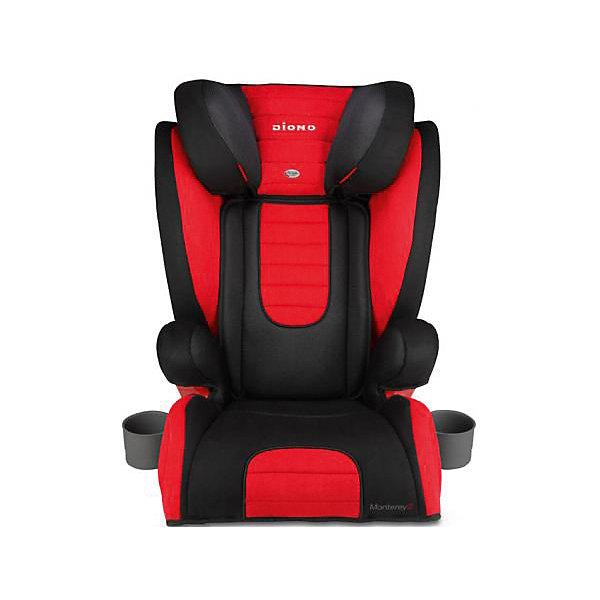 Автокресло Diono Monterey 2, 15-36 кг, RedГруппа 1-2-3  (от 9 до 36 кг)<br>Diono Monterey 2 Red - превосходное автокресло для безопасности и удобства ребенка во время длительных поездок. Кресло удобно устанавливается по ходу движения автомобиля, благодаря 3-точечным ремням и легкой регулировке креплений с системой Isofix. Для повышенной безопасности автокресло оборудовано глубоким регулируемым подголовником и боковыми подушками. Удобство ребенку обеспечат регулируемая спинка, мягкая подкладка и два удобных подстаканника. Это кресло надежно защитит вашего ребенка!<br>Особенности и преимущества:<br>-для детей от 15 до 36 кг<br>-крепления Isofix<br>-боковые подушки для дополнительной боковой защиты<br>-11 положений подголовника; регулируется на высоту до 16 см<br>-дополнительные ремни безопасности<br>-2 подстаканника<br>-чехол легко снимается для стирки<br>Цвет: красный<br>Материал: металл, текстиль, пластик<br>Размеры: 50x40,5х66 см<br>Вес: 7,1 кг<br>Автокресло Diono Monterey 2 Red  можно купить в нашем интернет-магазине.<br>Ширина мм: 670; Глубина мм: 360; Высота мм: 430; Вес г: 8800; Возраст от месяцев: 48; Возраст до месяцев: 144; Пол: Унисекс; Возраст: Детский; SKU: 2614577;