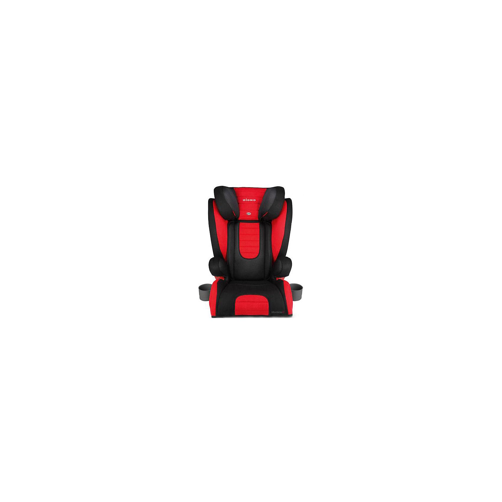Автокресло Diono Monterey 2, 15-36 кг, RedГруппа 2-3 (От 15 до 36 кг)<br>Diono Monterey 2 Red - превосходное автокресло для безопасности и удобства ребенка во время длительных поездок. Кресло удобно устанавливается по ходу движения автомобиля, благодаря 3-точечным ремням и легкой регулировке креплений с системой Isofix. Для повышенной безопасности автокресло оборудовано глубоким регулируемым подголовником и боковыми подушками. Удобство ребенку обеспечат регулируемая спинка, мягкая подкладка и два удобных подстаканника. Это кресло надежно защитит вашего ребенка!<br>Особенности и преимущества:<br>-для детей от 15 до 36 кг<br>-крепления Isofix<br>-боковые подушки для дополнительной боковой защиты<br>-11 положений подголовника; регулируется на высоту до 16 см<br>-дополнительные ремни безопасности<br>-2 подстаканника<br>-чехол легко снимается для стирки<br>Цвет: красный<br>Материал: металл, текстиль, пластик<br>Размеры: 50x40,5х66 см<br>Вес: 7,1 кг<br>Автокресло Diono Monterey 2 Red  можно купить в нашем интернет-магазине.<br><br>Ширина мм: 670<br>Глубина мм: 360<br>Высота мм: 430<br>Вес г: 8800<br>Возраст от месяцев: 48<br>Возраст до месяцев: 144<br>Пол: Унисекс<br>Возраст: Детский<br>SKU: 2614577