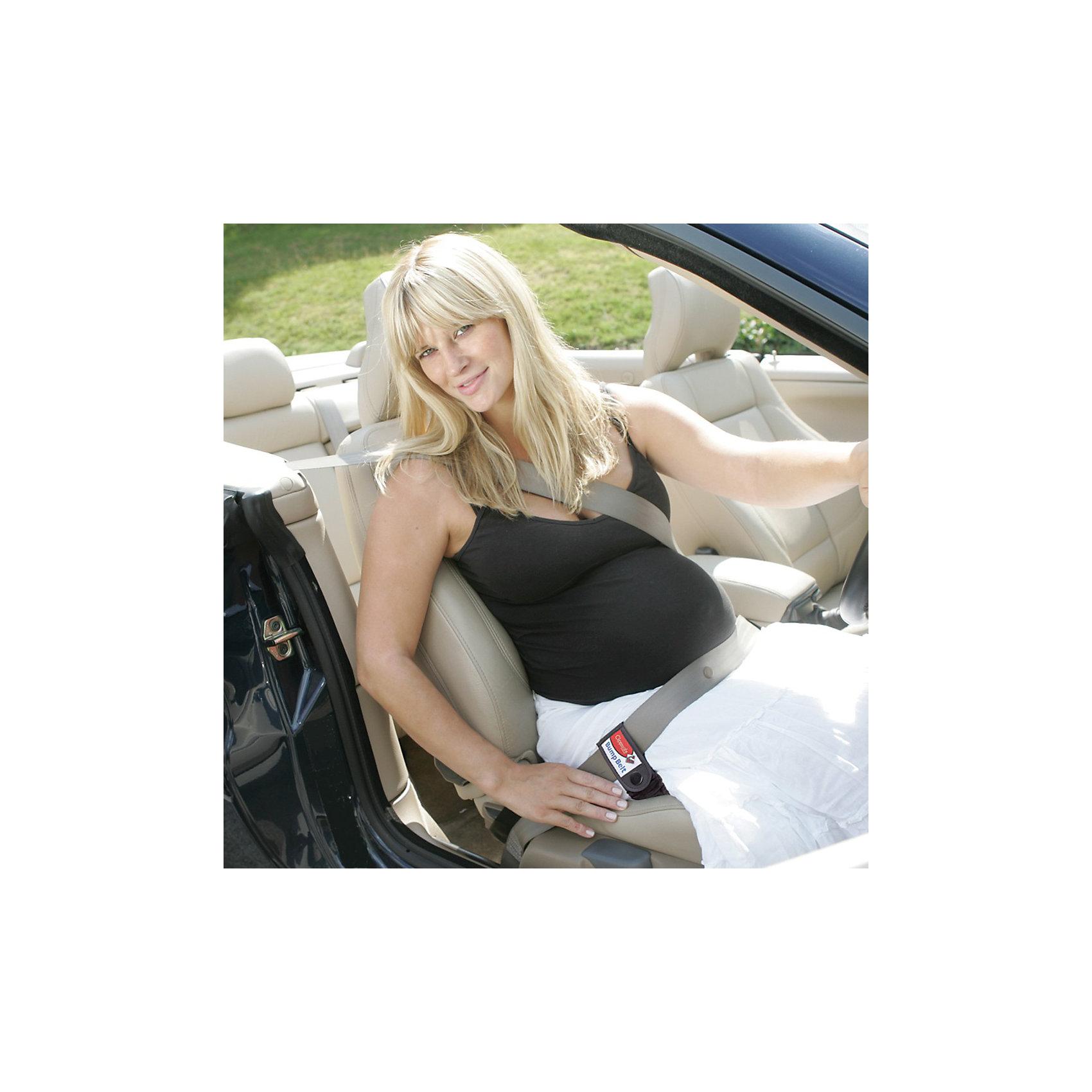 Автомобильный ремень для беременных, Clippasafe, черныйАксессуары<br>Ремень безопасности Clippasafe предназначен для женщин на сроке от 2-х месяцев до окончания беременности.<br>Защищает плод ребенка при ударе в случае аварии, снижая вероятность выкидыша на 50%.<br><br>Ремень представляет из себя специальную подушку, к которой специальными липучками-зажимами прикрепляется стационарный ремень безопасности. Благодаря этому облегание живота идет в безопасном для ребенка месте ниже и выше расположения плода. При резком торможении это убережет будущую маму и малыша. Ремень закрепленный зажимами адаптера будет находиться в правильном положении. Давление на бедра и таз в большей степени способны выдерживать некие перегрузки, в отличии от брюшной полости. Данная подушка предназначена для беременных женщин от двух месяцев беременности и вплоть до родов.<br><br>Ширина мм: 350<br>Глубина мм: 195<br>Высота мм: 170<br>Вес г: 350<br>Возраст от месяцев: 0<br>Возраст до месяцев: 60<br>Пол: Унисекс<br>Возраст: Детский<br>SKU: 2614583