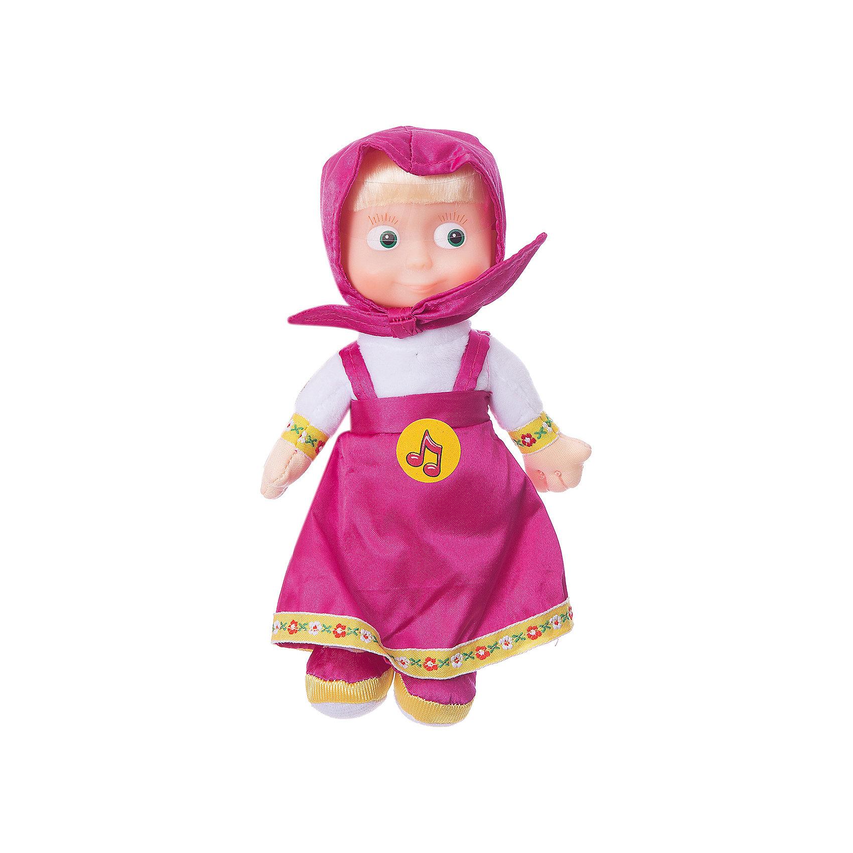 МУЛЬТИ-ПУЛЬТИ Мягкая кукла Маша,  22 см., Маша и Медведь,