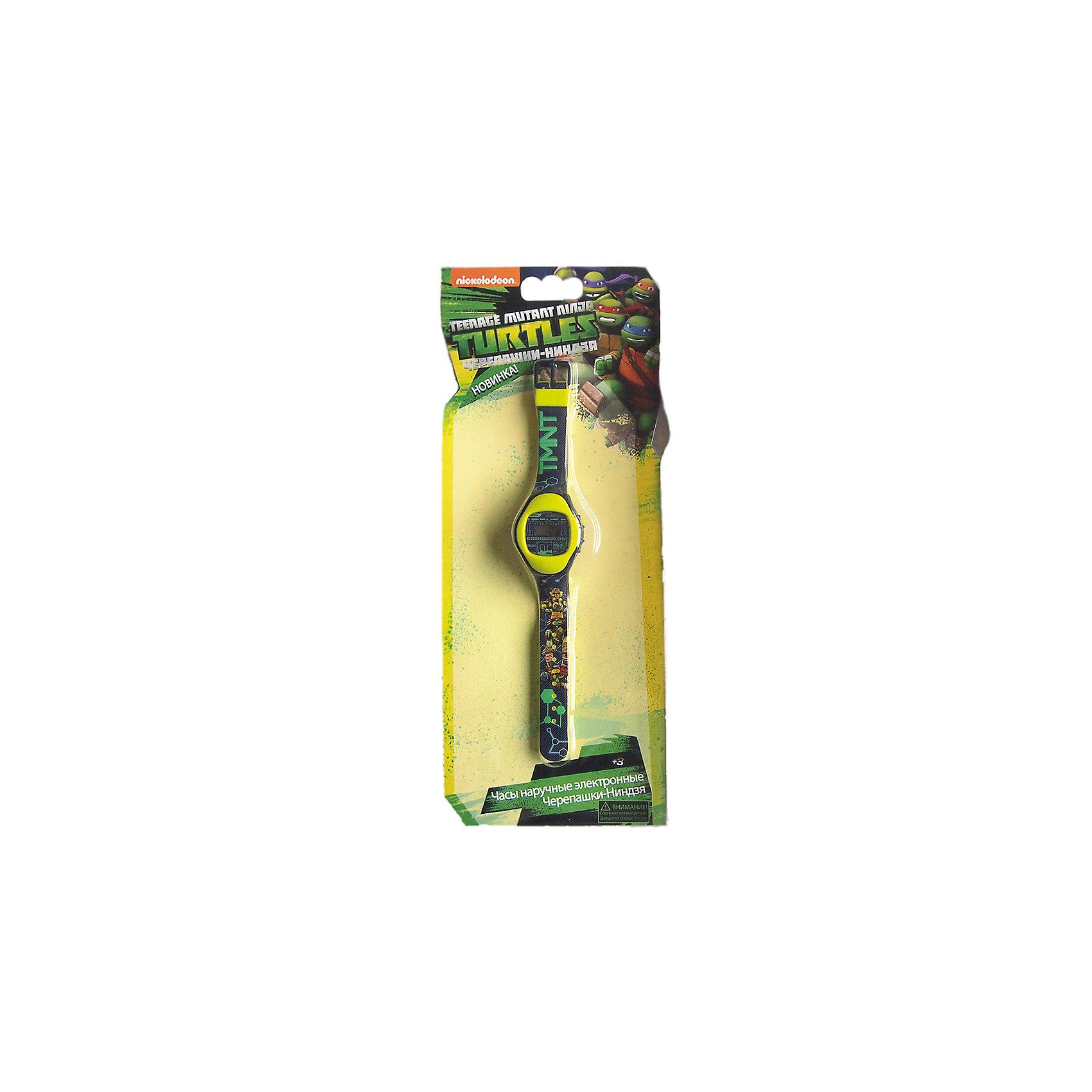 Часы наручные электронные Черепашки-НиндзяПринцессы Дисней<br>Электронные детские часы с корпусом и браслетом из пластика. Циферблат защищен от повреждений прочным пластиковым стеклом. Товар изготовлен полностью из пластмассы с питанием от химических источников тока, 1 сменный элемент включен в комплект (LR41 (AG3) 1.5 V). Рекомендуемый возраст: от 3 лет.<br><br>Ширина мм: 255<br>Глубина мм: 310<br>Высота мм: 40<br>Вес г: 60<br>Возраст от месяцев: 36<br>Возраст до месяцев: 168<br>Пол: Женский<br>Возраст: Детский<br>SKU: 2619350