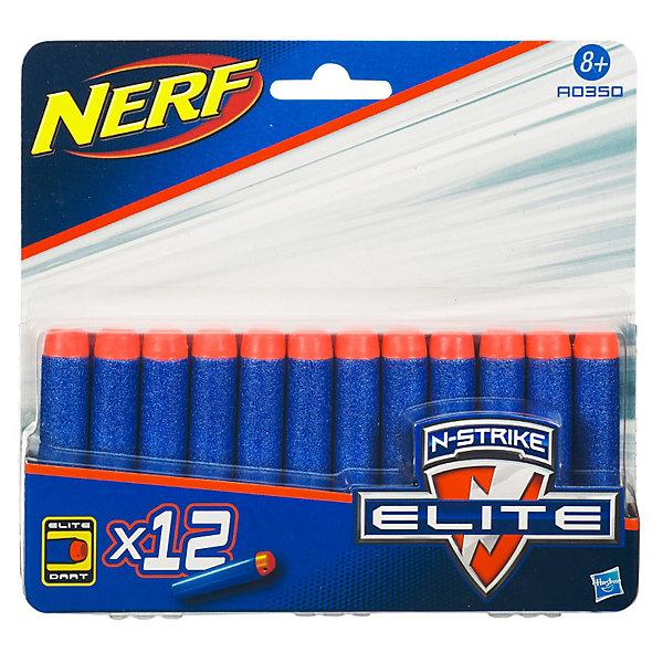 Комплект 12 стрел для бластеров, NERF
