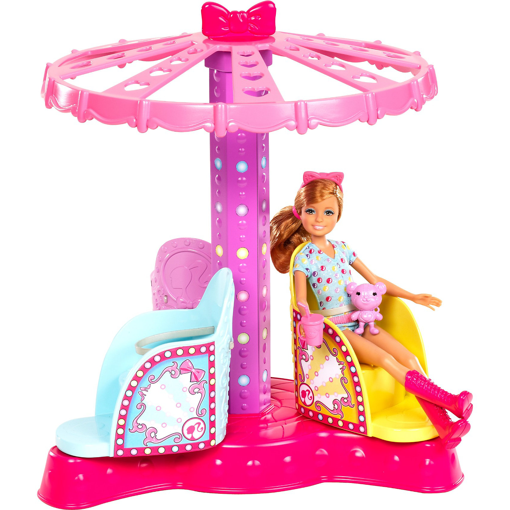 Аттракцион для сестер Барби и кукла Челси, Barbie