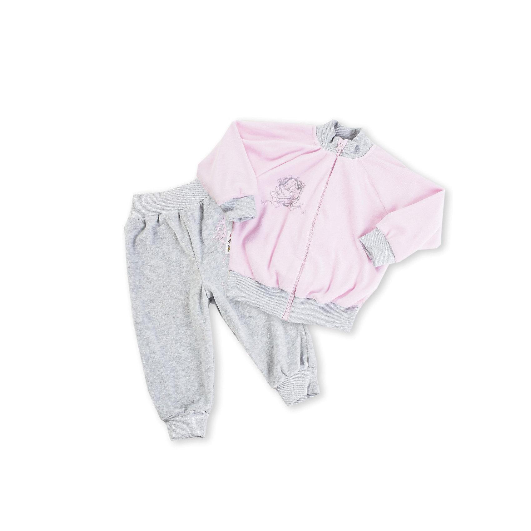 Комплект для девочки: брюки и толстовка Lucky ChildКомплект велюровый для девочки: брюки и толстовка от марки Lucky Child.<br>Состав: <br>80%  хлопок <br>20% вискозы<br><br>Ширина мм: 157<br>Глубина мм: 13<br>Высота мм: 119<br>Вес г: 200<br>Цвет: розовый<br>Возраст от месяцев: 6<br>Возраст до месяцев: 9<br>Пол: Женский<br>Возраст: Детский<br>Размер: 68/74,98/104,74/80,80/86,92/98,62/68,86/92<br>SKU: 2634985