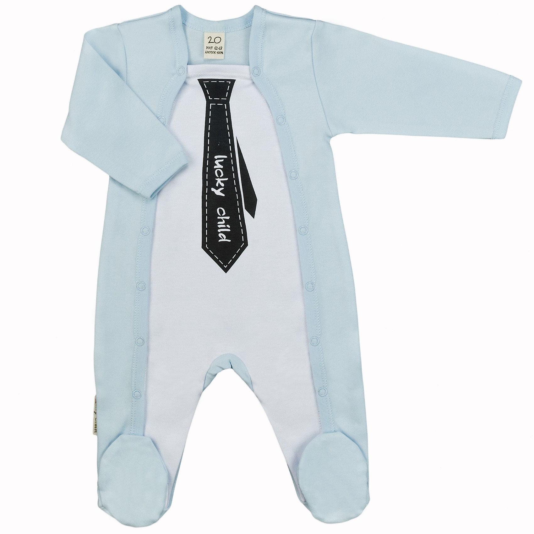 Lucky Child Комбинезон для мальчикаСтильный комбинезон с закрытыми пяточками и длинным рукавом для мальчика. Удобная застежка (кнопки по бокам по всей длине). Мягкий натуральный гипоаллергенный материал (100% хлопок), приятный к телу.<br><br>Ширина мм: 157<br>Глубина мм: 13<br>Высота мм: 119<br>Вес г: 200<br>Цвет: голубой<br>Возраст от месяцев: 12<br>Возраст до месяцев: 18<br>Пол: Мужской<br>Возраст: Детский<br>Размер: 80/86,56/62,74/80,68/74,62/68<br>SKU: 2635127