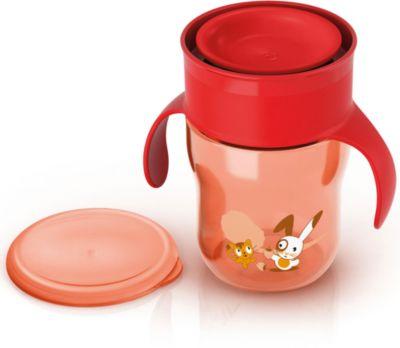 Поильник-чашка , 260мл, AVENT, красный Поильник-чашка , 260мл, AVENT,