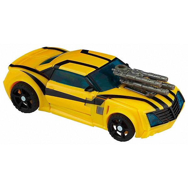 Трансформеры Прайм ДелюксТрансформеры-игрушки<br>Трансформеры Прайм Deluxe, в ассортименте - отважные роботы - герои популярного мультфильма Трансформеры Прайм.<br><br>Всего имеется 6 вариантов фигурок роботов: Bumblebee, Cliffjumper, Wheeljack, Soundwave, Arcee и Autobot Ratchet, и у каждого из них - свое уникальное оружие (мечи, пушки, бластеры).<br>Игрушка легко трансформируется из автомобиля в робота и наоборот. Собрав у себя несколько таких Трансформеров, Ваш ребенок сможет устроить настоящее сражение!<br><br>Дополнительная информация:<br><br>- В комплекте: 1 фигурка-трансформер.<br>- Высота фигурки робота-трансформера 17 см.<br>- Размер упаковки: 19,1 x 30,5 x 6,4 см.<br>- Упаковка: Блистер.<br><br>ВНИМАНИЕ! Данный артикул имеется в наличии в разных вариантах исполнения. Заранее выбрать определенный вариант нельзя. При заказе нескольких машинок возможно получение одинаковых.<br>Ширина мм: 640; Глубина мм: 191; Высота мм: 210; Вес г: 300; Возраст от месяцев: 72; Возраст до месяцев: 144; Пол: Унисекс; Возраст: Детский; SKU: 2717531;