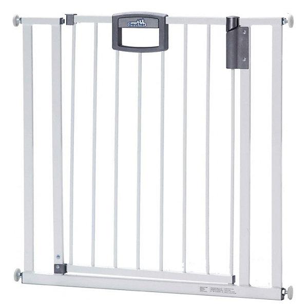 Барьеры-ворота Geuther Easy Lock 4782Ворота безопасности<br><br><br>Ширина мм: 820<br>Глубина мм: 860<br>Высота мм: 800<br>Вес г: 7000<br>Возраст от месяцев: 6<br>Возраст до месяцев: 36<br>Пол: Унисекс<br>Возраст: Детский<br>SKU: 2717860
