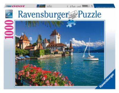 Пазл Берн, озеро Ravensburger, 1000 деталей