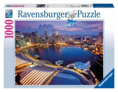 Пазл Небоскребы Сингапура Ravensburger, 1000 деталей