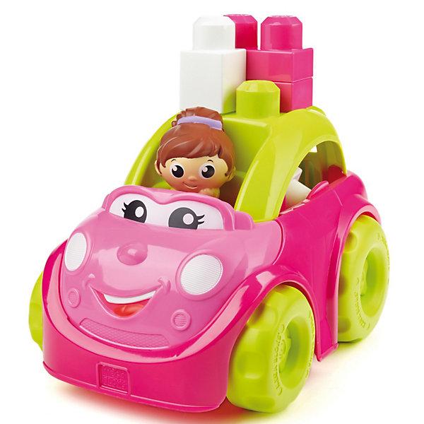 Маленькая машинка First Builders MEGA BLOKSПластмассовые конструкторы<br>Кабриолет Кэти First Builders, Mega Bloks, приятно порадует Вашу девочку. Симпатичная машинка выполнена в ярких розово-зеленых тонах, у нее милое личико с веселой улыбкой и большие глаза с ресничками. Крыша кабриолета легко снимается, в салоне можно размещать детали First Builders и фигурки. В комплект также входят блоки, которые можно прикреплять на крышу кабриолета, меняя его облик, и фигурка девушки-водителя. Машинка и детали имеют крупный размер и форму, удобную для детских ручек. Набор совместим с другими наборами серии First Builders.<br><br>Дополнительная информация:<br><br>- В комплекте: машинка, 6 деталей, фигурка водителя.<br>- Материал: пластик.<br>- Размер упаковки: 24 x 16,5 x 17 см.<br>- Вес: 0,47 кг.<br><br>Кабриолет Кэти First Builders, MEGA BLOKS (Мегаблокс), можно купить в нашем интернет-магазине.<br><br>Ширина мм: 240<br>Глубина мм: 167<br>Высота мм: 172<br>Вес г: 473<br>Возраст от месяцев: 12<br>Возраст до месяцев: 48<br>Пол: Женский<br>Возраст: Детский<br>SKU: 2910777