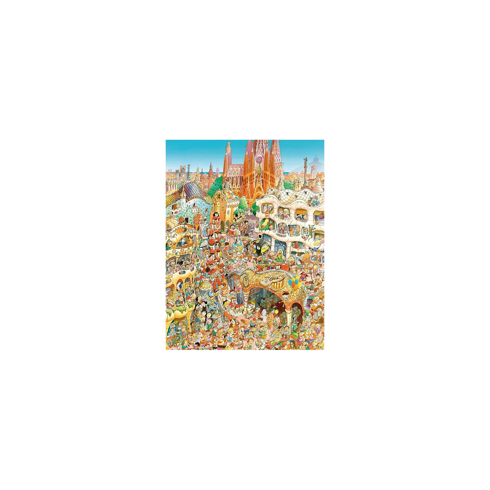 Настольная игра Барселона, 1500 деталей, Prades, Пазл