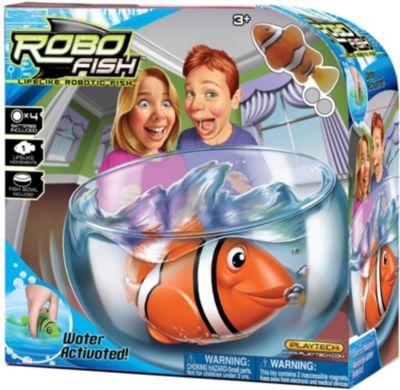 ZURU РобоРыбка Клоун с аквариумом, RoboFish