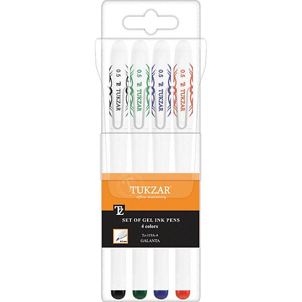 Набор гелевых ручек: 4 цвета, флуоресцентныеПоследняя цена<br>Набор гелевых ручек: Белый пластиковый корпус; рельефный цветной резиновый держатель (цвет соответствует цвету чернил); колпачок с клипом; толщина пишущего наконечника - 0,5 мм; 4 цвета, в прозрачной упаковке с европодвесом.<br><br>Ширина мм: 175<br>Глубина мм: 57<br>Высота мм: 15<br>Вес г: 52<br>Возраст от месяцев: 36<br>Возраст до месяцев: 1188<br>Пол: Унисекс<br>Возраст: Детский<br>SKU: 3098108