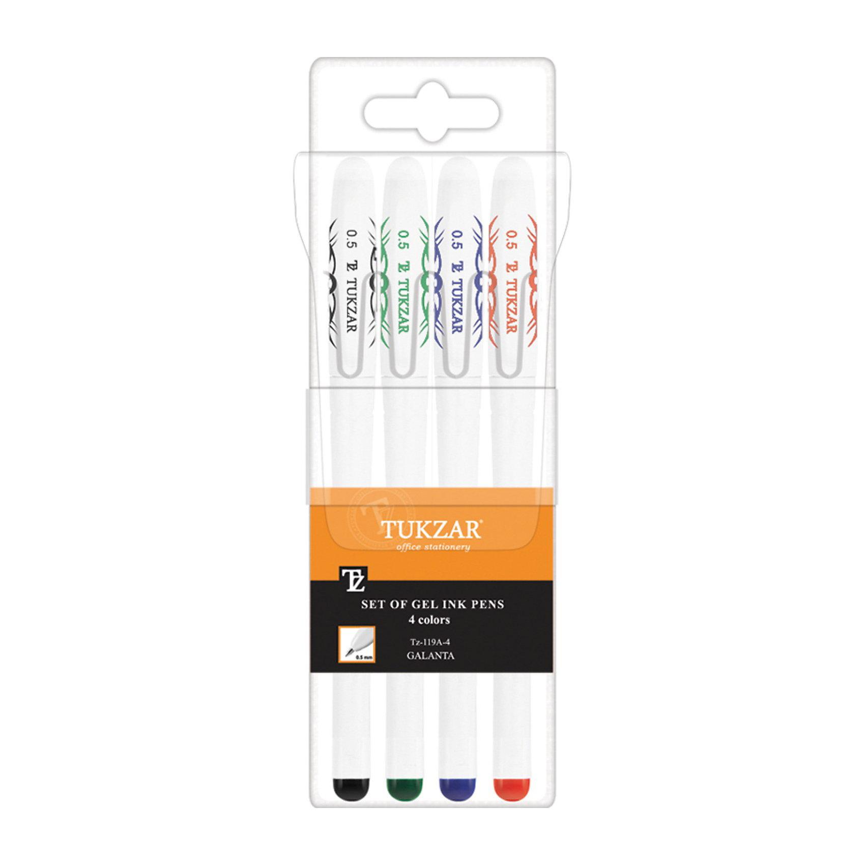 Набор гелевых ручек: 4 цвета, флуоресцентныеПисьменные принадлежности<br>Набор гелевых ручек: Белый пластиковый корпус; рельефный цветной резиновый держатель (цвет соответствует цвету чернил); колпачок с клипом; толщина пишущего наконечника - 0,5 мм; 4 цвета, в прозрачной упаковке с европодвесом.<br><br>Ширина мм: 175<br>Глубина мм: 57<br>Высота мм: 15<br>Вес г: 52<br>Возраст от месяцев: 36<br>Возраст до месяцев: 1188<br>Пол: Унисекс<br>Возраст: Детский<br>SKU: 3098108