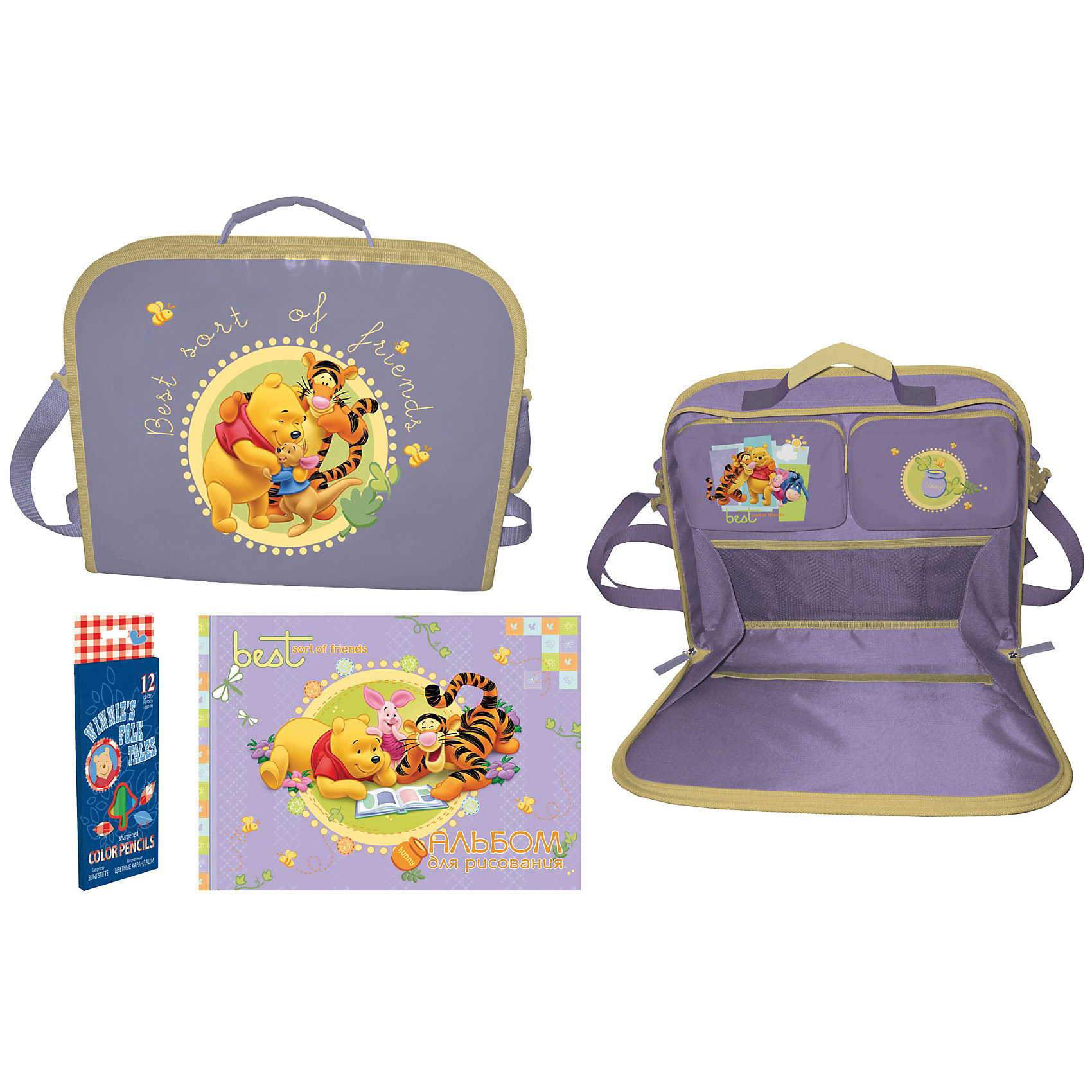 Winnie the Pooh Раскладная папка-планшетПрактичная и удобная папка планшет с любимым героем Winnie the Pooh, будет отличным помощником для хранения рисунков, бумаги и любой другой информации.<br><br>Ширина мм: 355<br>Глубина мм: 290<br>Высота мм: 50<br>Вес г: 690<br>Возраст от месяцев: 48<br>Возраст до месяцев: 84<br>Пол: Унисекс<br>Возраст: Детский<br>SKU: 3109911