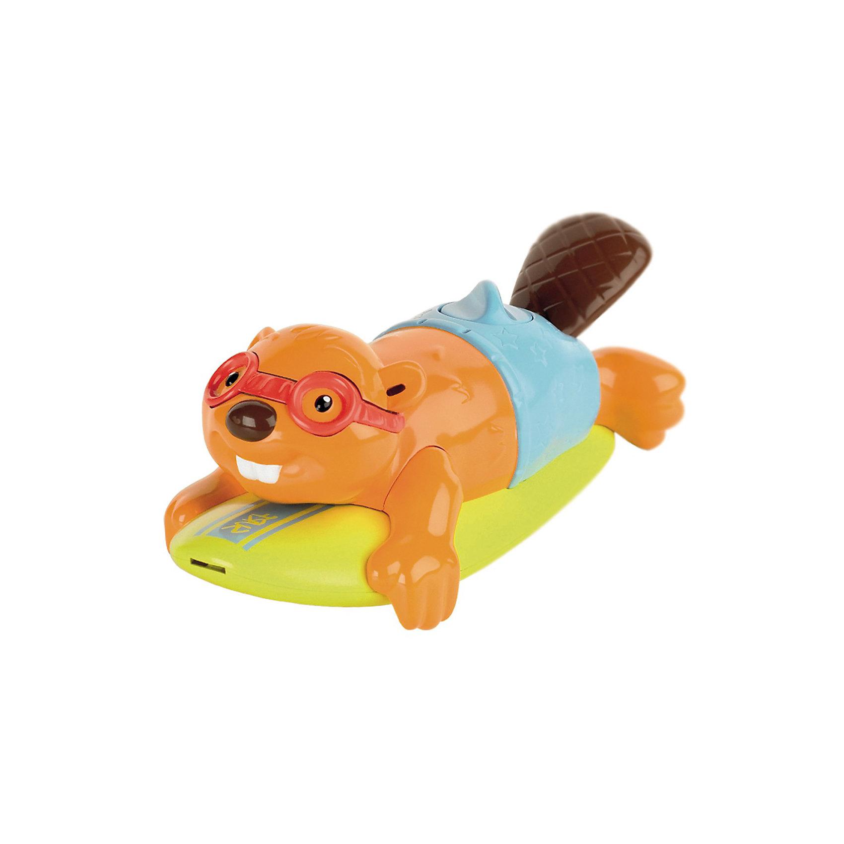 TOMY Игрушка для ванной Бобер-серфингист, TOMY наборы для рисования tomy aquadoodle маркер малый