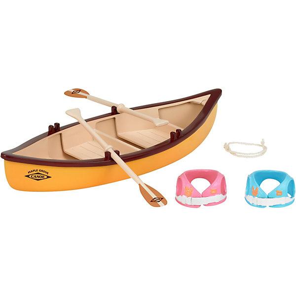 Набор Лодка Sylvanian FamiliesSylvanian Families<br>Набор Лодка Sylvanian Families (Сильваниан Фэмилиес) - отличный набор для любимых зверюшек вашего ребенка: в погожий день так приятно охладиться, поплавав на лодке! <br>Лодка с веслами и два спасательных жилета - розовый и голубой - помогут обеспечить безопасное и веселое времяпровождение зверюшки на воде.<br><br>Дополнительная информация:<br><br>В комплекте:<br>- одна лодка с веслами<br>- два спасательных жилета<br><br>Подходит для: любых питомцев Sylvanian Families.<br>Прекрасно сочетается с арт. 3136066 - Набор Семейный пикник.<br><br>Ширина мм: 155<br>Глубина мм: 152<br>Высота мм: 50<br>Вес г: 110<br>Возраст от месяцев: 36<br>Возраст до месяцев: 72<br>Пол: Женский<br>Возраст: Детский<br>SKU: 3136065