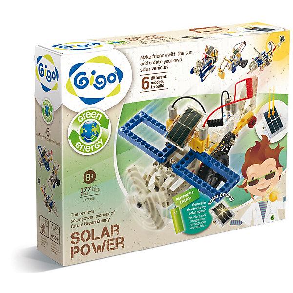 Конструктор Энергия солнцаПластмассовые конструкторы<br>Расширенный набор серии Изучаем технологии позволяет детям узнать, что такое энергия солнечного света и как ее использует человек в своей жизнедеятельности на примере действующих моделей собственной сборки. Занимаясь с набором, юный ученый сможет самостоятельно изготовить 6 действующих моделей: мотоциклы, парового локомотив, бульдозер, экскаватор, вертолеты, фуникулер, самолет и многое другое.<br><br>Основа набора - цилиндрические шестерни (соединяющиеся одна с другой), которые вращаются в одной плоскости и позволяют регулировать скорость или направление вращения валов, и конические шестерни (шестерни со скругленной с одной стороны кромкой), которые передают движение под прямым углом по отношению к основным шестерням и валам (осям).<br><br>Всего в наборе 177 деталей и красочно иллюстрированная инструкция, содержащая теоретическое обоснование проделываемых действий и пошаговое их описание.<br><br>Игра с этим конструктором помогает развитию ребенка: мелкой моторики и координации движений, освоению навыков чтения схем сборки, развитию фантазии и творческого мышления, знакомит с основами физики и различными видами энергии.<br><br>Дополнительная информация:<br><br>Количество деталей: 177<br>Модели будут работать как под солнечными лучами, так и под лампой мощностью от 60 Вт, находящейся на расстоянии 10-15 см от солнечных батарей.<br><br><br>Конструктор   Энергия солнца можно купить в нашем магазине.<br><br>Ширина мм: 370<br>Глубина мм: 290<br>Высота мм: 80<br>Вес г: 1120<br>Возраст от месяцев: 96<br>Возраст до месяцев: 2147483647<br>Пол: Унисекс<br>Возраст: Детский<br>SKU: 3139164