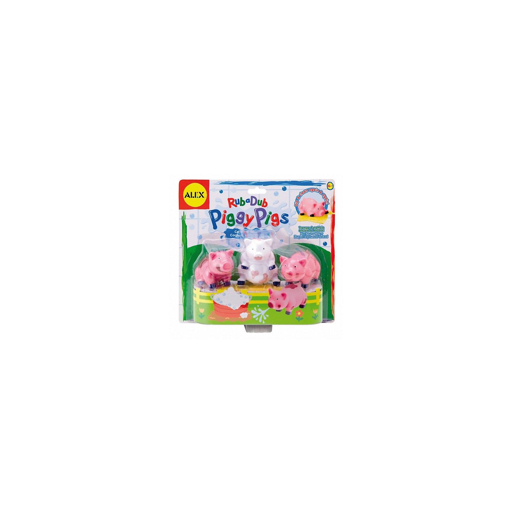 ALEX ALEX Игра для ваннойВымой поросенка игрушки для ванной alex игрушки для ванны джунгли