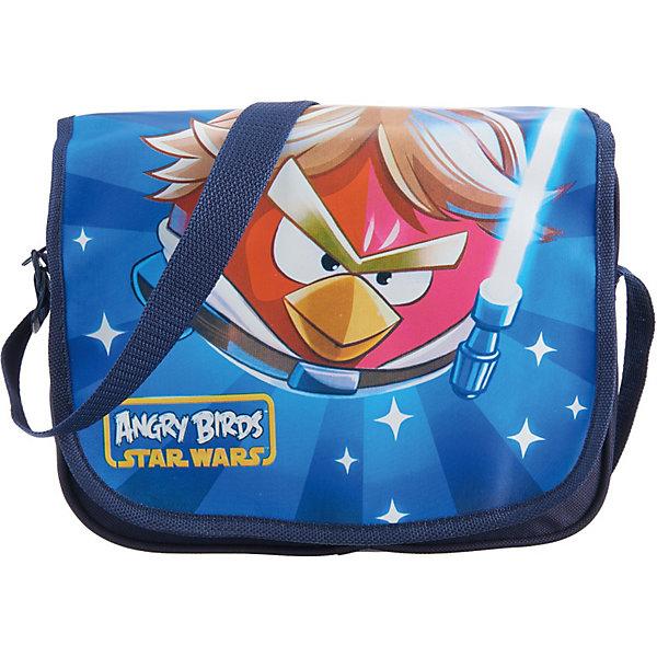 Сумка, Angry BirdsШкольные сумки<br>Сумка, Angry Birds (Злые Птички) – это великолепный стильный аксессуар, который понравится поклонникам игры про сердитых птичек Энгри Бердс.<br>Сумка декорирована ярким принтом с изображением Красной птички в роли героя Звездных войн - Люка Скайуокера. Сумка изготовлена из прочного полиэстера и состоит из одного отделения. Снабжена удобным регулируемым по длине плечевым ремнем. Сумка идеально подойдет для учебы или прогулок с друзьями.<br><br>Дополнительная информация:<br><br>- Материал: 100% полиэстер<br>- Размер: 8 x 24 x 18 см.<br><br>Сумку, Angry Birds (Злые Птички) можно купить в нашем интернет-магазине.<br>Ширина мм: 255; Глубина мм: 210; Высота мм: 40; Вес г: 183; Возраст от месяцев: 36; Возраст до месяцев: 1164; Пол: Унисекс; Возраст: Детский; SKU: 3142154;