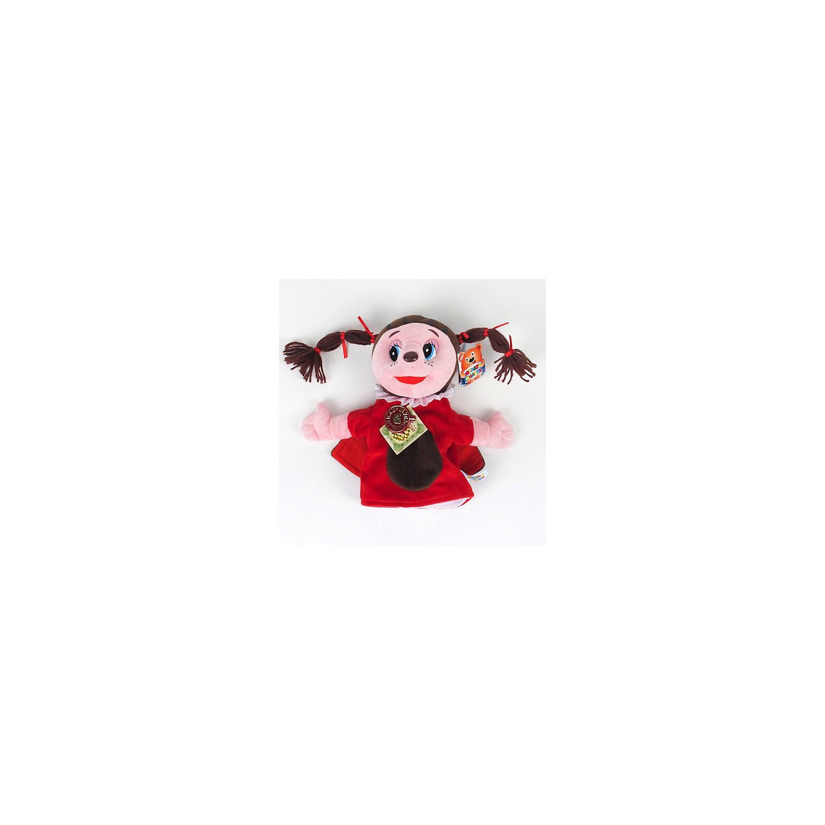 МУЛЬТИ-ПУЛЬТИ Кукла на руку Божья коровка Мила, 25 см, Лунтик, МУЛЬТИ-ПУЛЬТИ мульти пульти мягкая игрушка принцесса луна 18 см со звуком my little pony мульти пульти