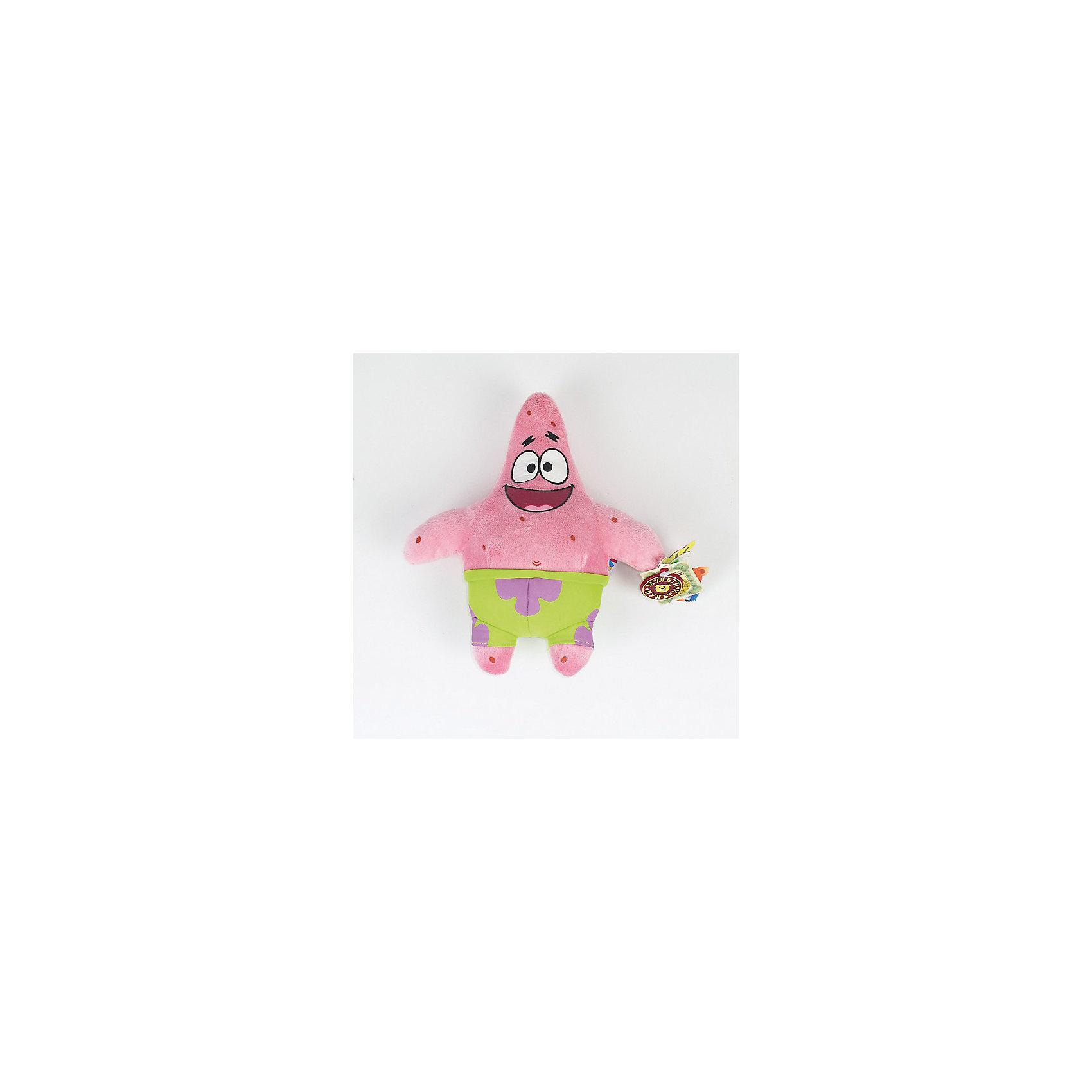 Мягкая игрушка Патрик, со звуком, 24 см,