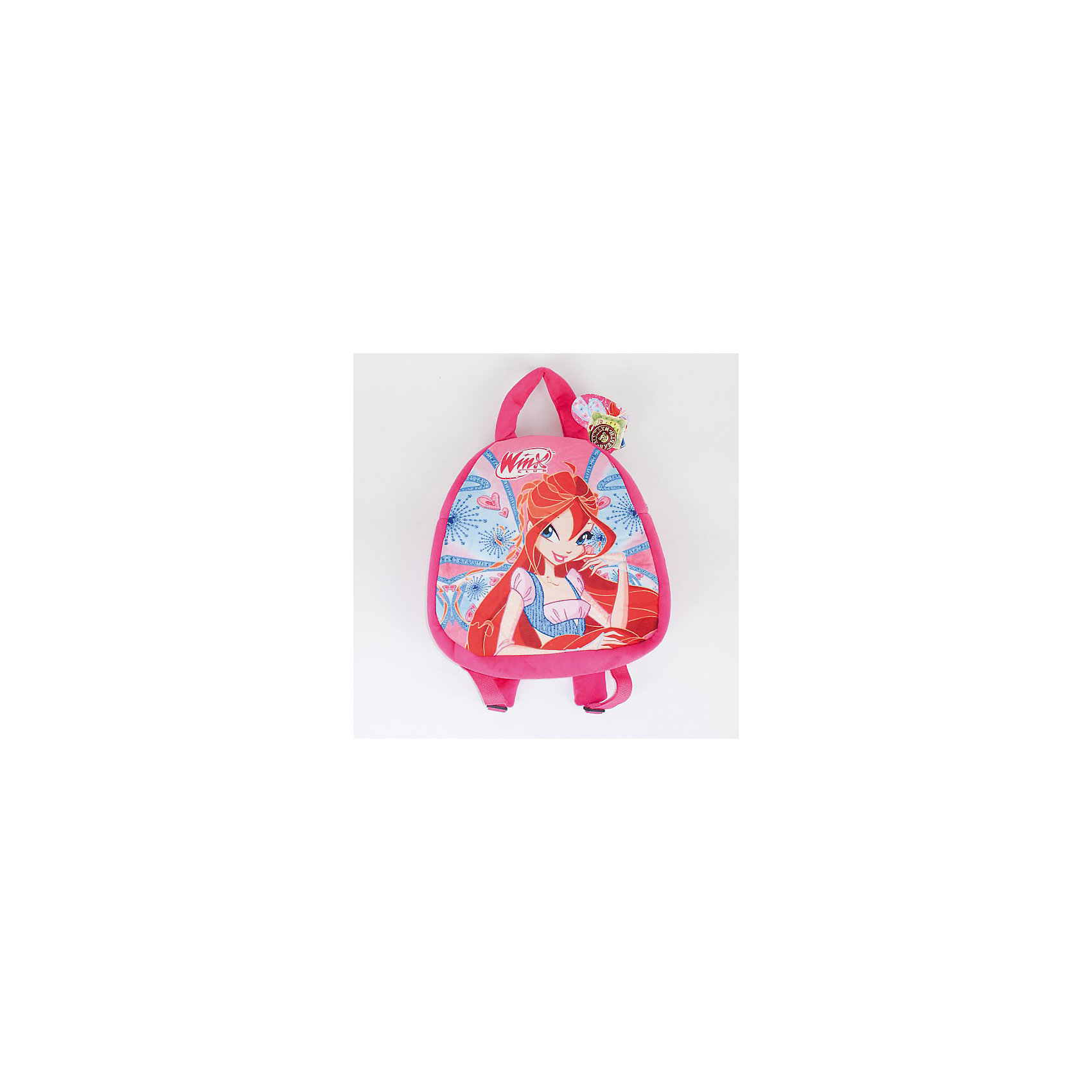 Рюкзак Winx Club, 30см, МУЛЬТИ-ПУЛЬТИСтильный и яркий плюшевый рюкзак, выполненный в розовом цвете и украшенный изображениями героев мультсериала «Winx» приведет в восторг любую девочку.<br>Подарок в виде столь эффектного аксессуара, окажется не только приятным, но и практичным, ведь в рюкзачке так удобно носить любимые игрушки.<br>Рюкзак с широкими регулируемыми по росту лямками имеет одно просторное отделение, застегивающееся на молнию. <br><br>Дополнительная информация:<br><br>Материалы: цветной плюш, текстиль <br>Размеры (высота): 30 см<br>Серия: Winx (Винкс) - Школа Волшебниц<br><br>Winx (Винкс)  Рюкзак мягкий, 30см можно купить в нашем магазине.<br><br>Ширина мм: 180<br>Глубина мм: 180<br>Высота мм: 300<br>Вес г: 104<br>Возраст от месяцев: 18<br>Возраст до месяцев: 144<br>Пол: Унисекс<br>Возраст: Детский<br>SKU: 3143920