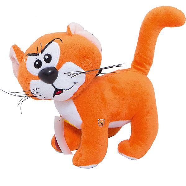 Мягкая игрушка  Кот Азраэль, со звуком, 20 см, Смурфики, МУЛЬТИ-ПУЛЬТИИгрушки<br>Мягкая игрушка кот Азраэль станет приятным сюрпризом для юных поклонников мультсериала Смурфы о маленьких волшебных человечках. Хитрый и коварный Кот Азраэль, как и его хозяин злой колдун Гаргамель, постоянно что-то замышляют против смурфиков. Игрушка озвучена, при нажатии кот начинает мяукать<br><br>Дополнительная информация:<br><br>- Материал: текстиль, синтепон.<br>- Требуются батарейки: 3* LR44 (входят в комплект).<br>- Размер: 20 см.<br>- Размер упаковки: 17 x 15 x 8 см.<br><br><br>Мягкую игрушку кот Азраэль Смурфики от Мульти-Пульти можно купить в нашем магазине.<br>Ширина мм: 120; Глубина мм: 120; Высота мм: 200; Вес г: 52; Возраст от месяцев: 18; Возраст до месяцев: 144; Пол: Унисекс; Возраст: Детский; SKU: 3143936;