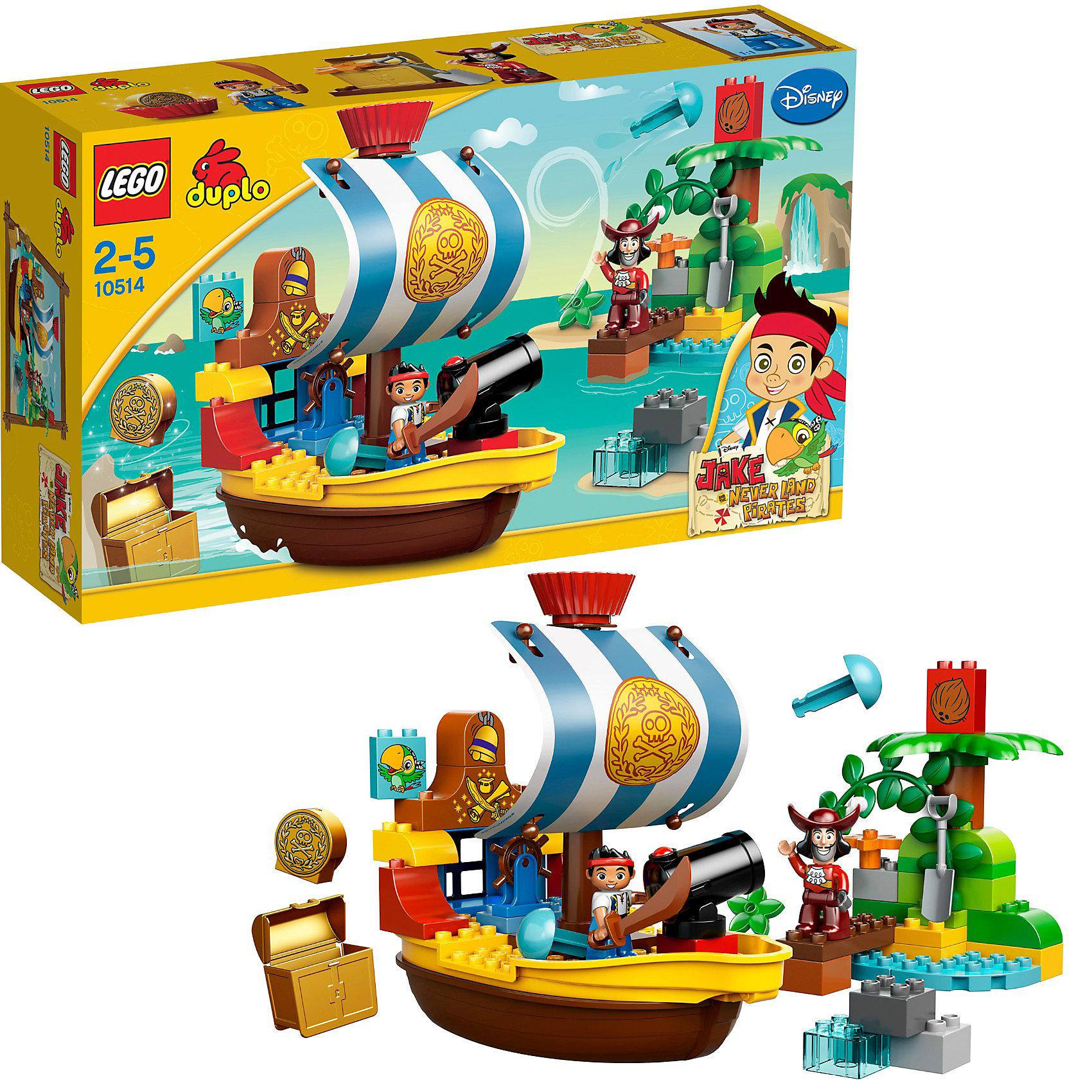 LEGO DUPLO 10514: Пиратский корабль Джейка