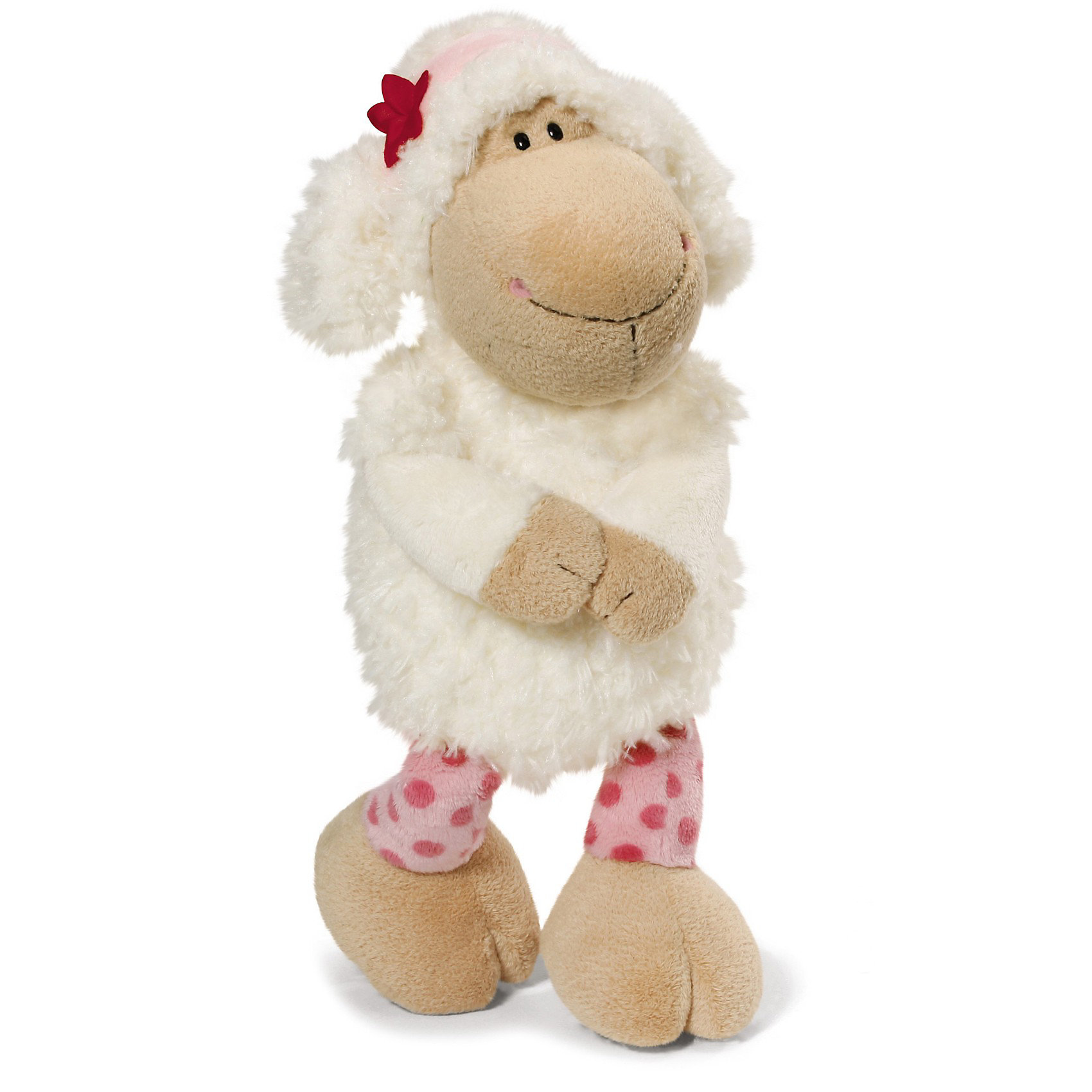 NICI Овечка Сью сидячая, 25 см., NICI nici мягкая игрушка овечка френсис сидячая