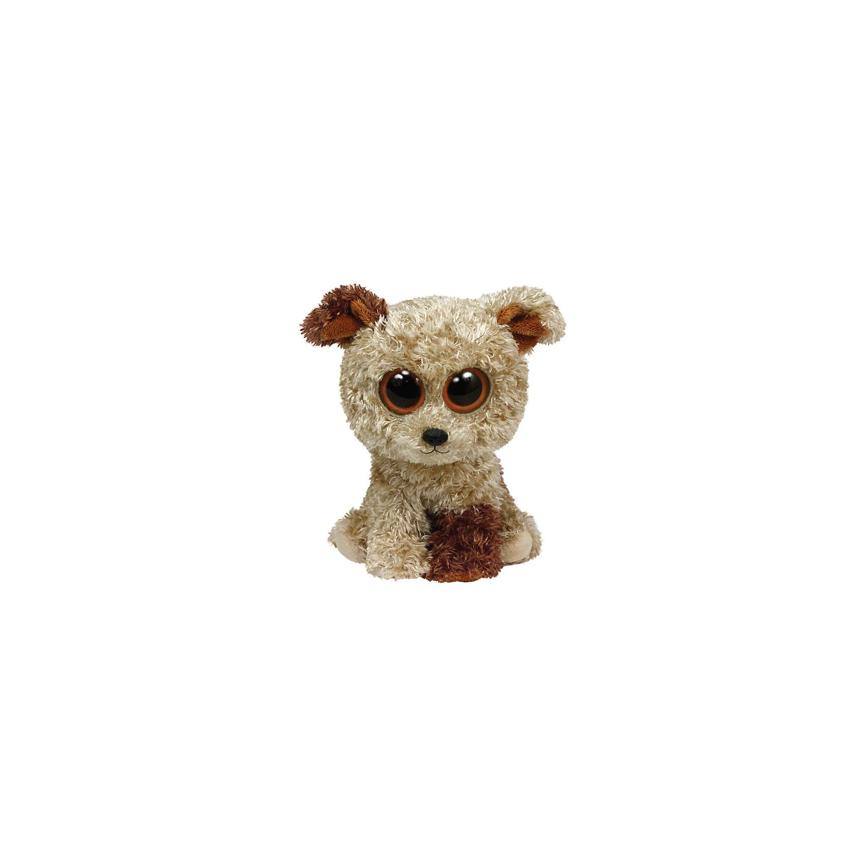Ty Щенок Rootbeer 25 см большую мягкую игрушку собаку лежа в москве