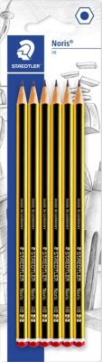 Staedtler Чернографитный карандаш Noris, HB, 6 шт.