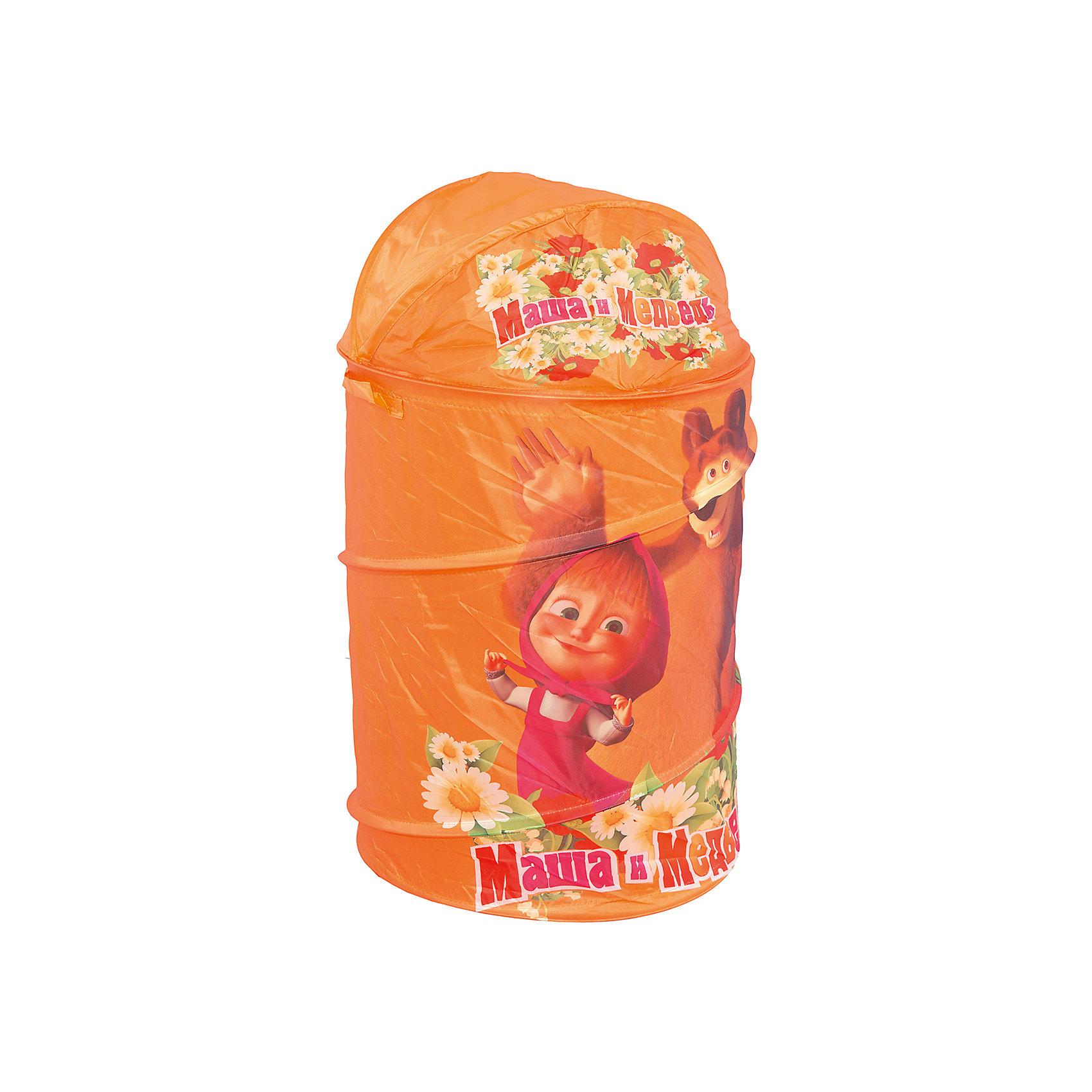 Играем вместе Корзина для игрушек, Маша и медведь сетка для игрушек в ванну купить в волгограде