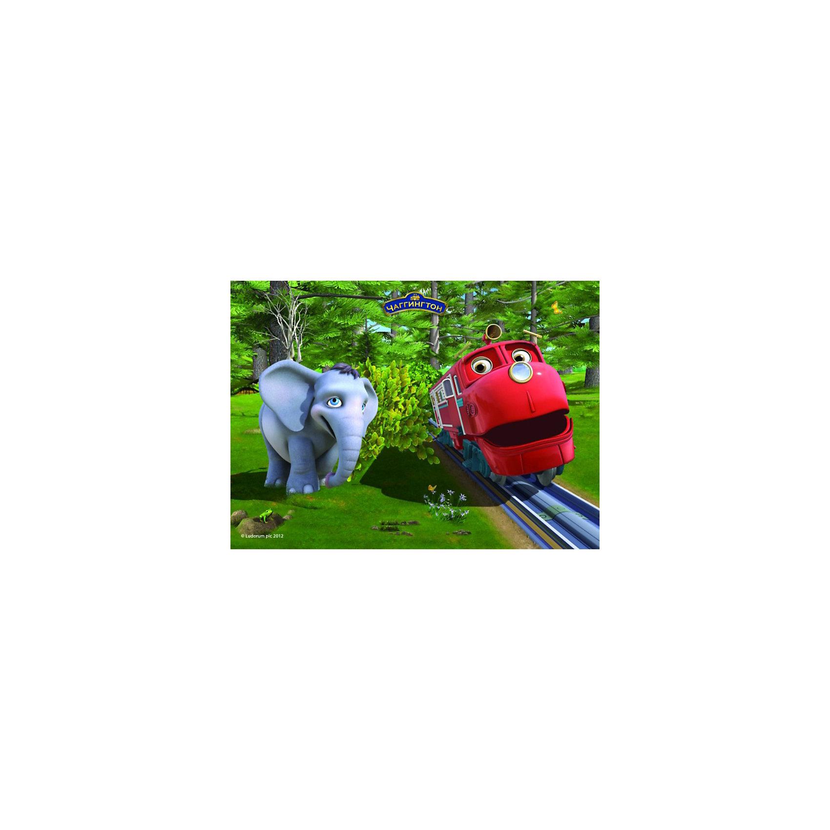 Castorland Пазлы Чаггингтон 30 деталей, Уилсон и слоненок castorland пазлы прага чехия 1000 деталей castorland